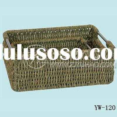 Office supplies Seagrass file organizer/basket