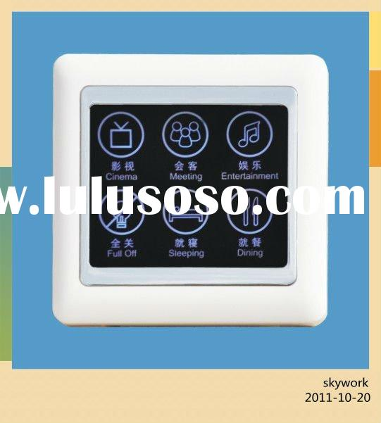 Programmable remote control scene touch switch/RF Home automation products