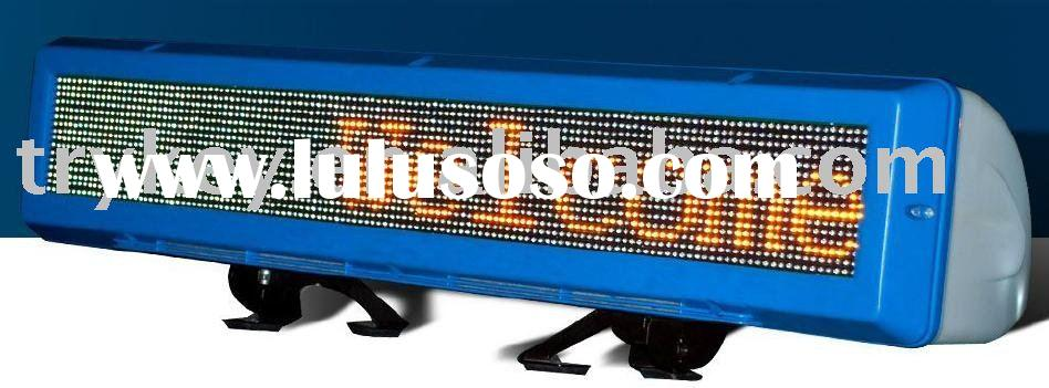Remote control led display,Wireless Car display,Double side
