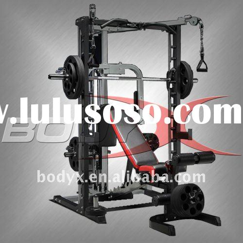 S0102A/F0401B-Smith Machine with LAT & FLY & Cable Crossover Attachment & Multi-Purpose