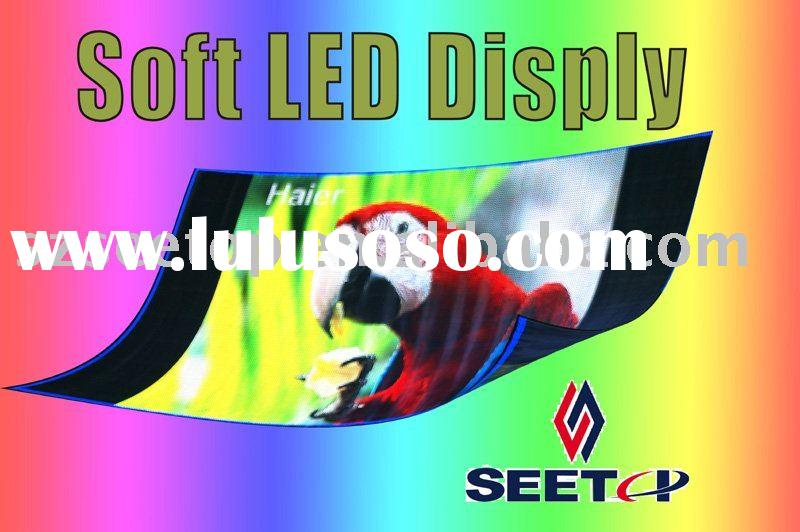 Seetop's high quality flexible LED Screen to make your business aggressive with earthshaking