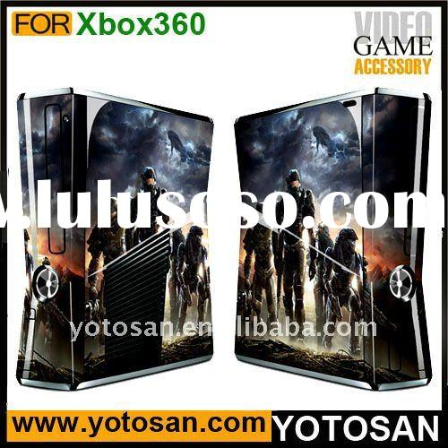Skins sticker for xbox 360 slim console covers case