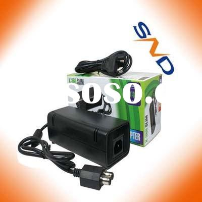 Slim AC Adapter Power Supply Cord FOR XBOX 360
