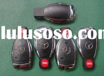 Smart Key Remote Case Shell For MERCEDES BENZ 4 Buttons ,with bright border,free shipping !