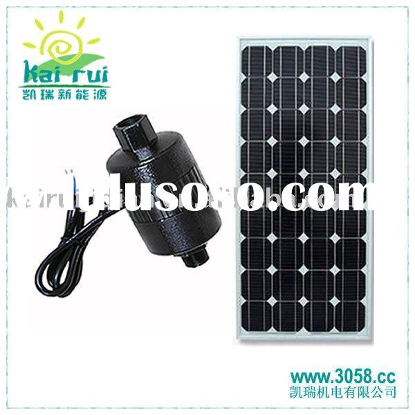 Solar water pump fountain
