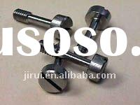 Stainless steel cap head slot captive screw