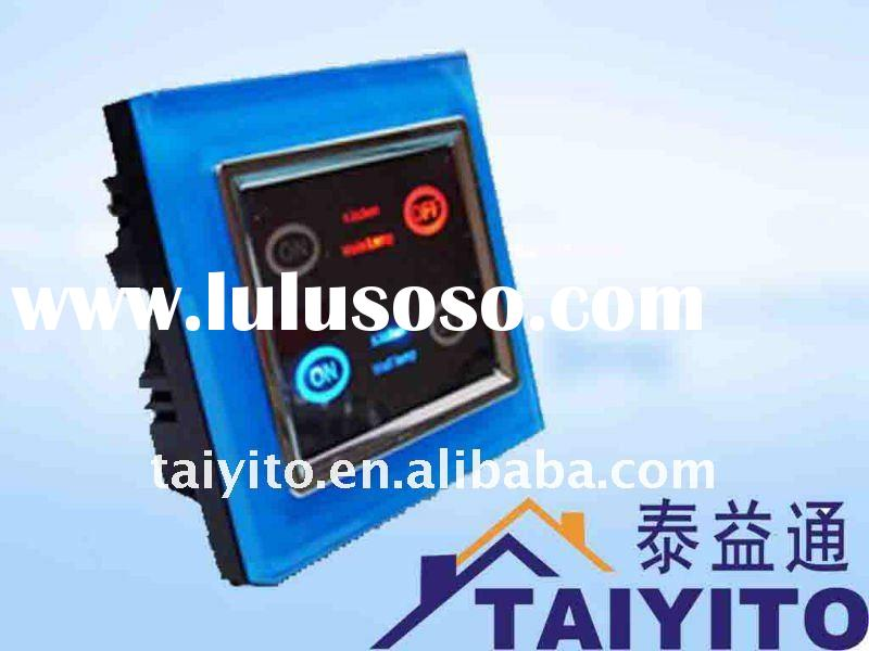 TAIYITO TDXE4404S X10 signal smart home automation switch / touch screen switch / wall switch / lamp