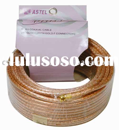 TV Cable A-9009,coil, coaxial cable