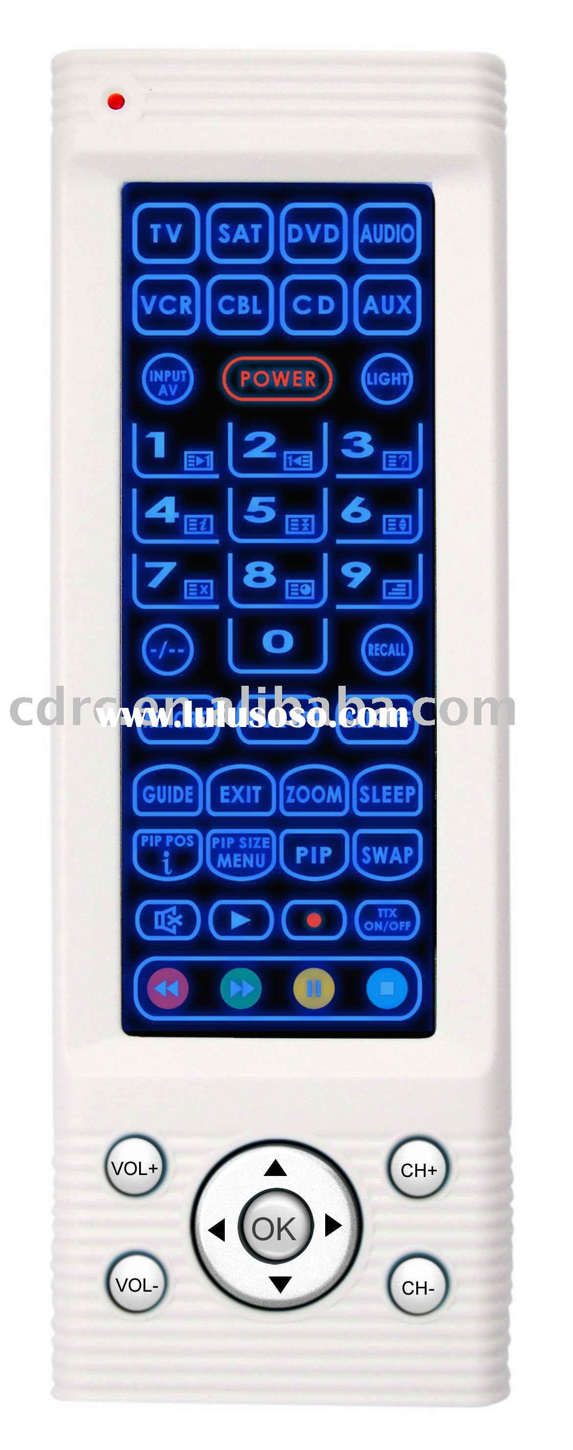 Touch Screen Remote Control