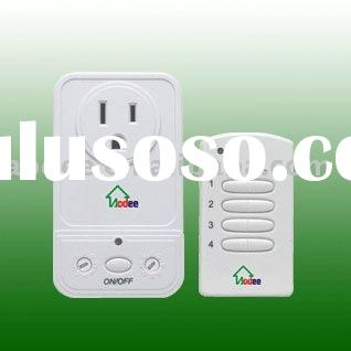 UL Wireless remote control Wall Outlet ,RF