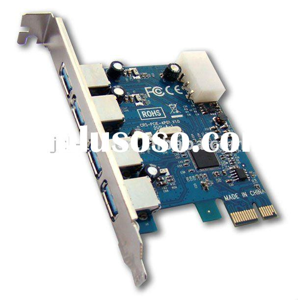 USB 3.0 4 ports PCI Express PCI-E Controller Card Adapter