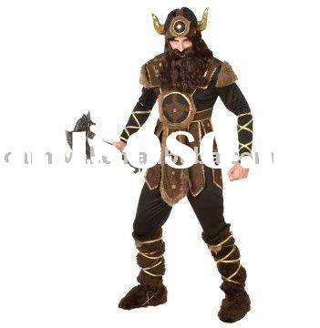Vicious Viking Adult Costume / men halloween costume bsmc-0634