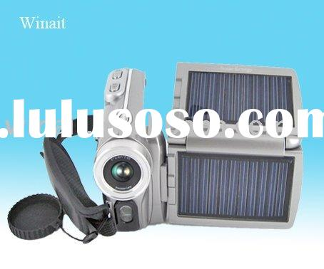 Winait's High Definition 720P Dual Solar Panel Digital Video Camera
