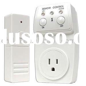 Wireless Remote Control AC Power Outlet Plug Switch Socket
