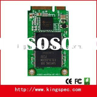 With controller of Jmicron Solid State Disk 2Channel SATA MiniPCIe 8GB SSD for Mid