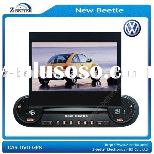 (New!!) 2 Din 7 Inch GPS Car DVD for VW New Beetle with amplifier 4*50W,GPS,Radio