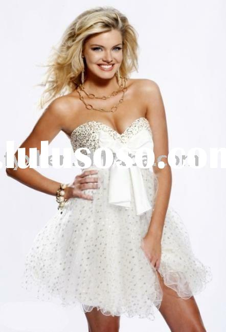 beautiful short evening dress QZ-503