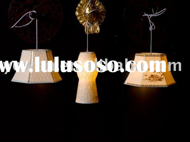 ceramic lamp shade for pendant