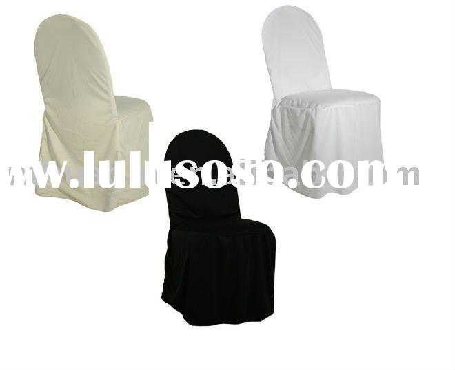 distributor polyester banquet chair cover for weddings