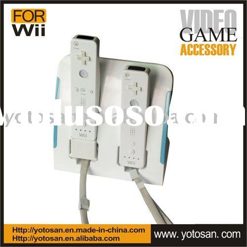 dual charger station compatible with motion plus for wii remote controller