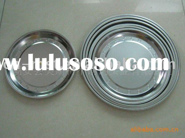 high quality stainless steel big plates