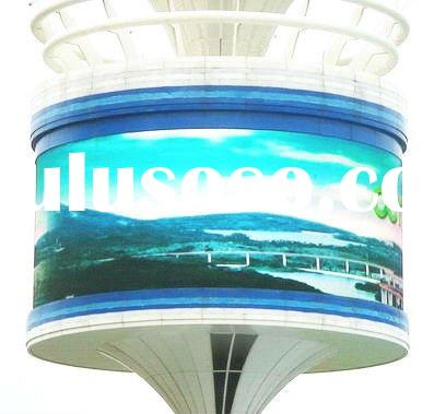 hot new products giant HD PH16 screen circular arc led tv