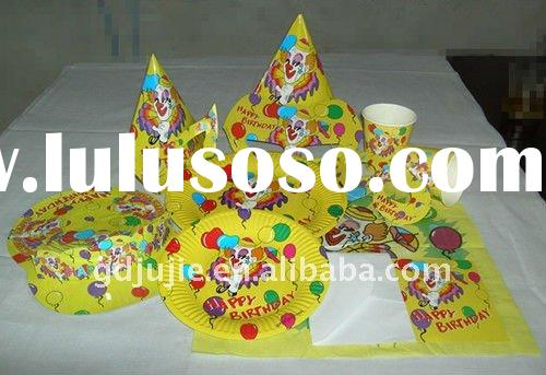 kids birthday party supplies