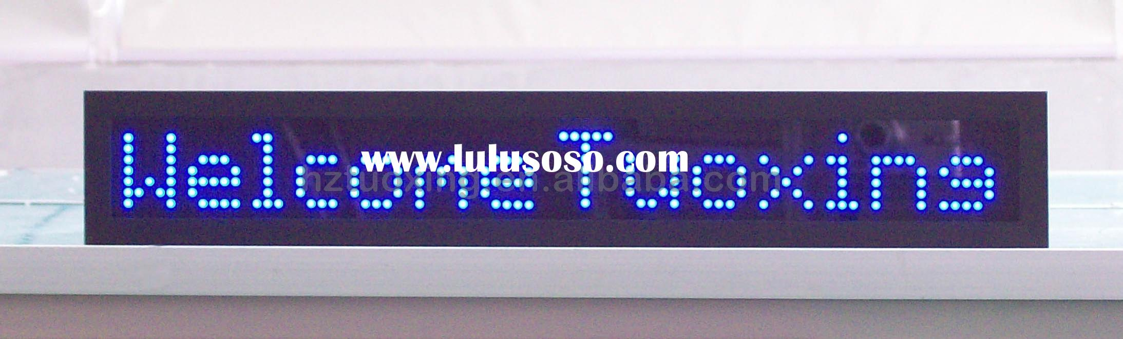 led text moving display, moving message display, electronic message sign
