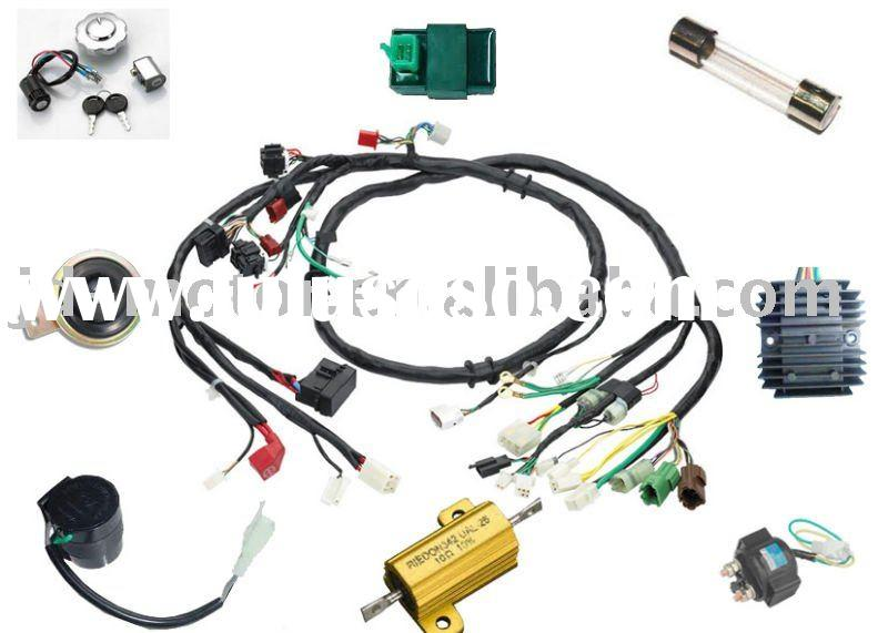 Motorcycle wire harness for sale price china