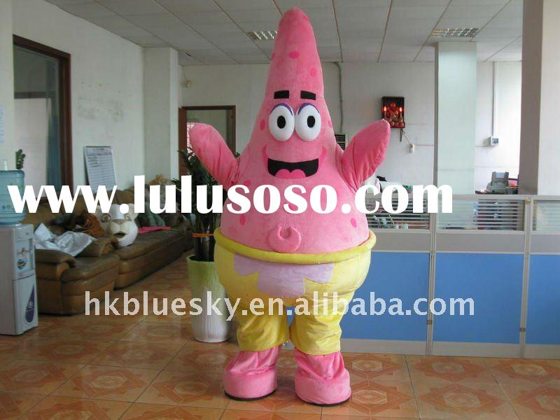 movie patrick mascot party costume