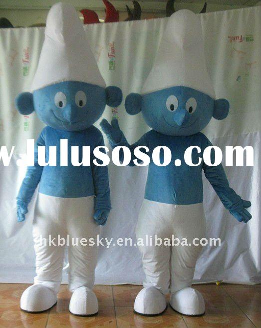 newest movie cartoon smurfs mascot