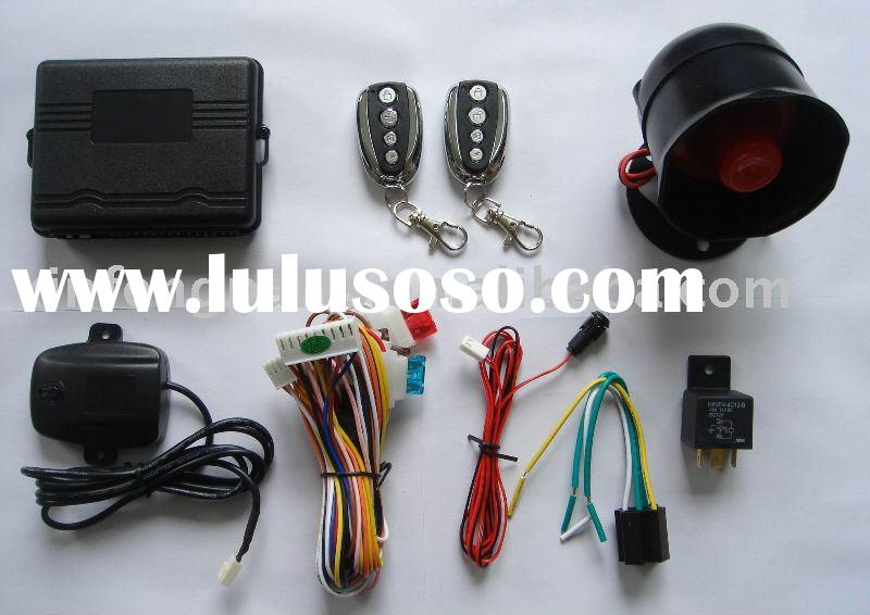 one way car alarm vehicle auto mobile spare accessories security system remote control