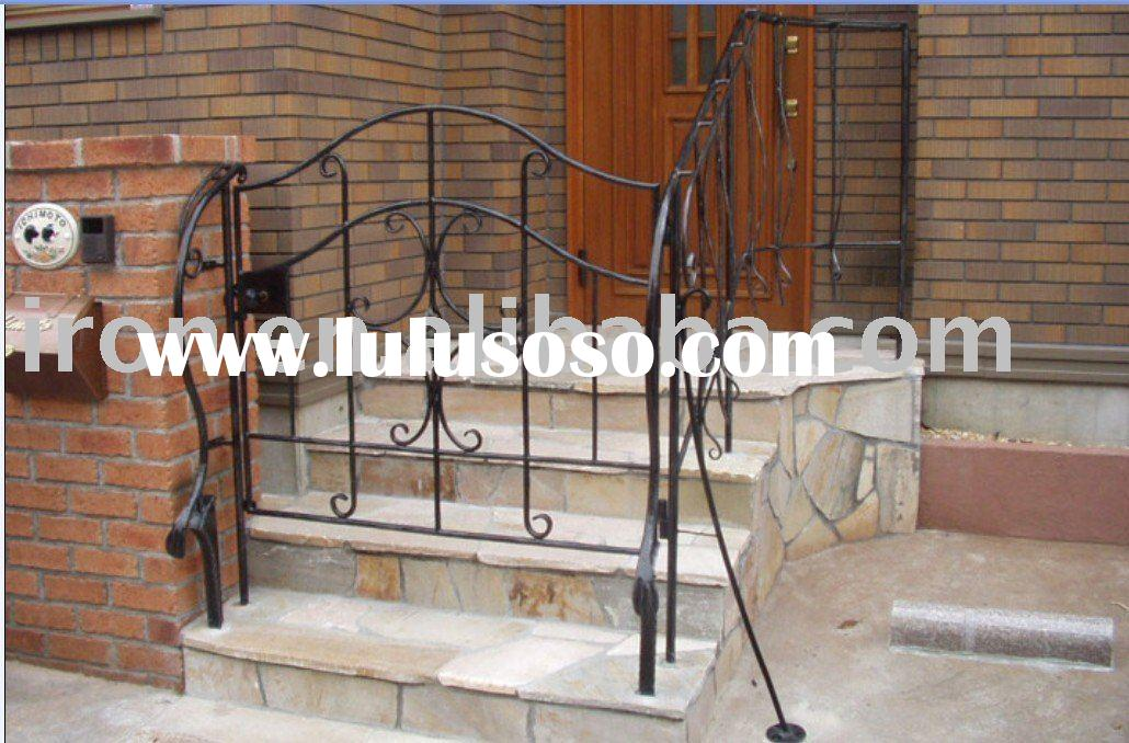 simple design iron gate
