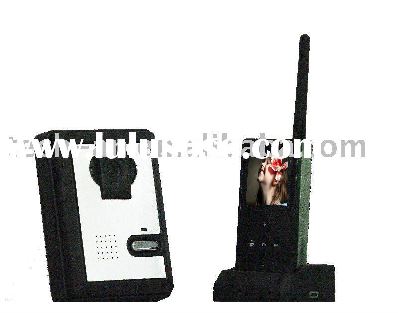 wireless remote control home video entry system