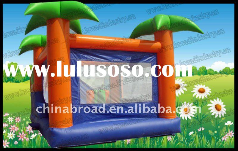 2012 hot-selling Kids bouncy castle PLATO PVC