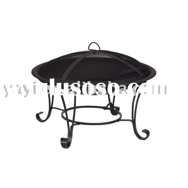 "30"" outdoor steel fire pit bowl"