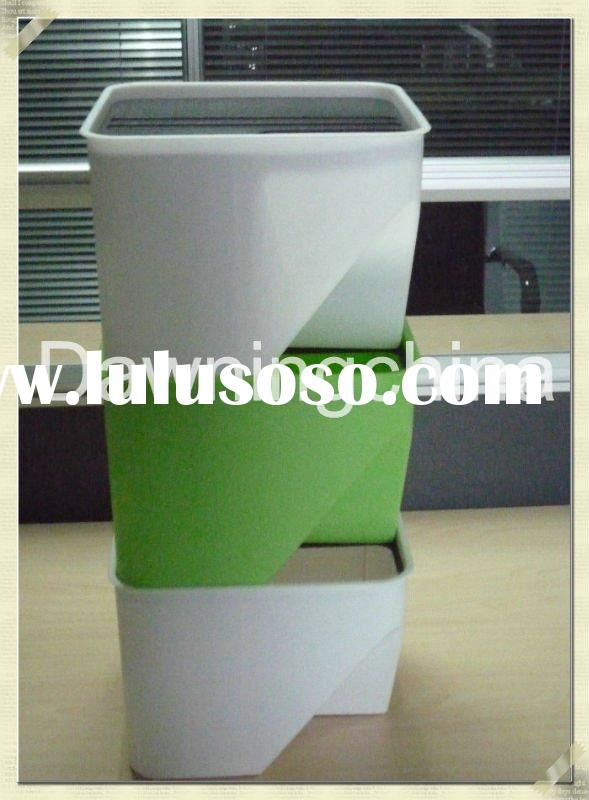 PP Block Rubbish Bin/Block Dust Bin/Categories Trash/Creative Bin