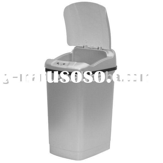 Square infra red sensor trash can with 11 1 gallon or 42l for sale price manufacturer - Rd trash can for sale ...