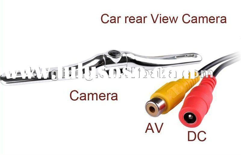 170Degree Europe License Plate Frame Car Reverse Camera With Park Distance Line Control