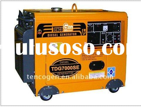 4.5kw Air-cooled Silent Type Diesel Generator