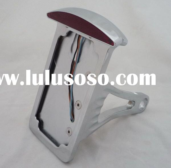 Axle mount vertical Sidemount LED License/Taillight Assy for Harley