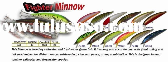 Fishing Lures Hard Plastic Lures Hard baits Fighter Minnow