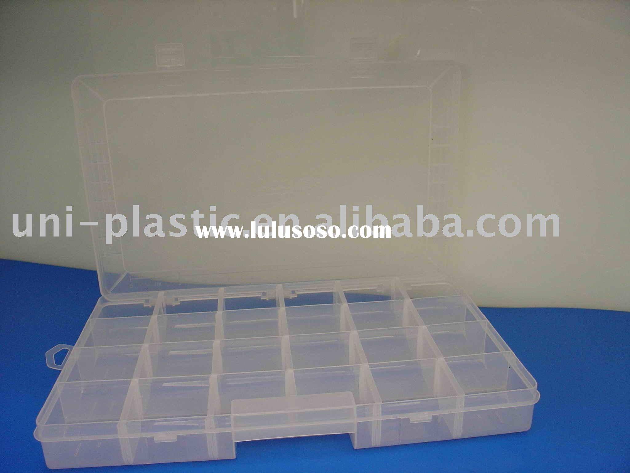 Fishing Tackle Box with 24 compartments (Removable Insert)