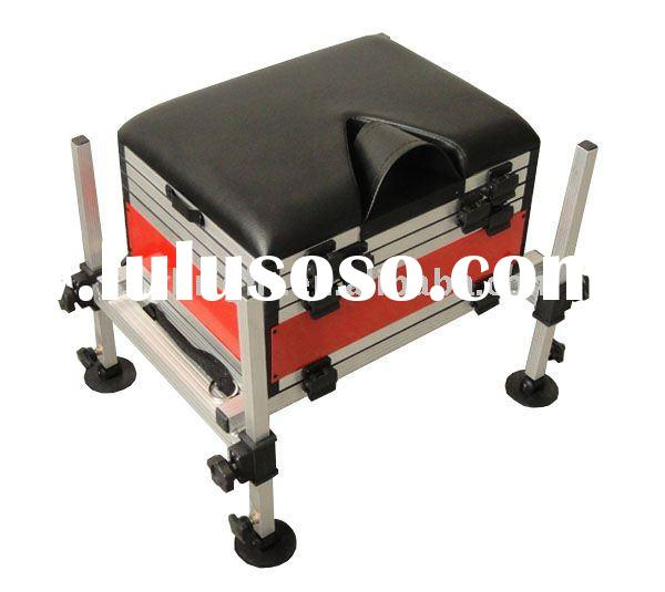 Fishing tackle seat boxes