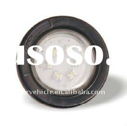"LED 2"" Round Clearance Marker Lamp with 6 Diodes"