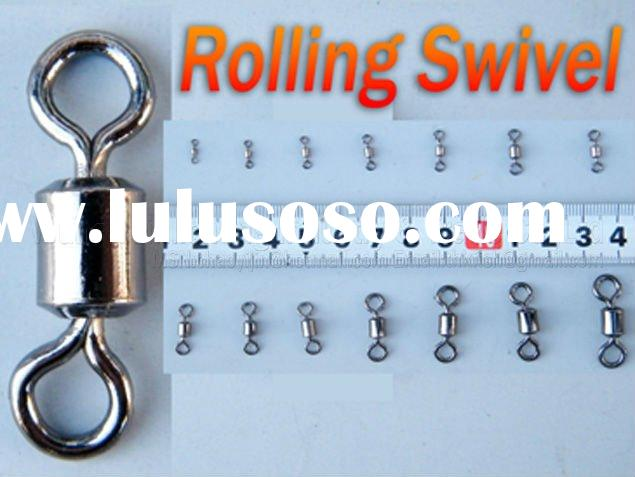 #1~#10 pack Fishing Tackle Rolling Swivel