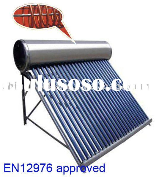 (SAN) copper coil solar water heater (stainless steel type)