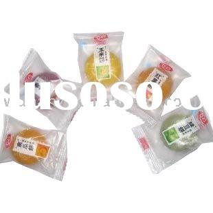 clear plastic food packing bag