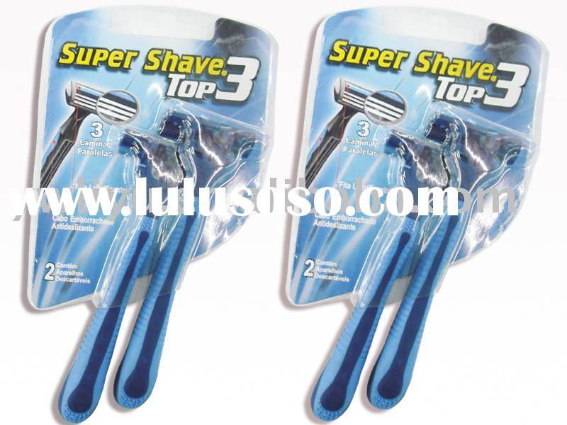 super shaver ,men`s razor ,twin blade razor,disposable razor