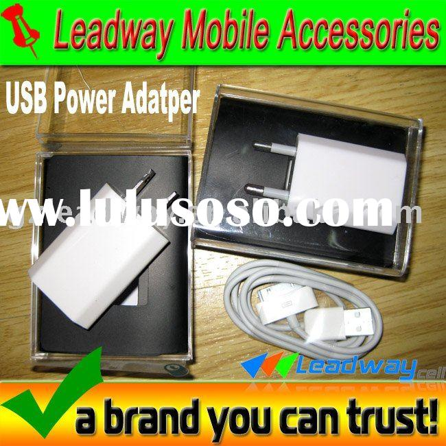 usb power adapter for iPhone4, European and US Specification are available